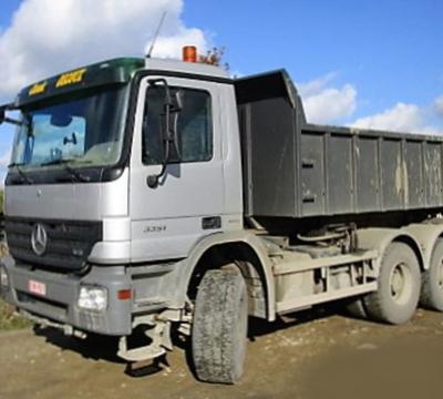 Decoux Terrassement - transport par benne